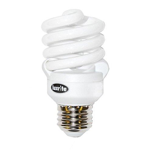 Luxrite 13w 120v Ultra Super Mini Twist 6500k Daylight Fluorescent Light (120v Mini Twist)