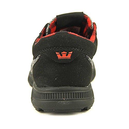 Supra Zapatillas Casa Hammer De Black Run black risk Red Mujer aZq6raEw