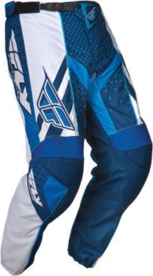 Fly Racing F-16 Race - Fly Racing F-16 Race Pant - Blue/White Size 32 - 365-53132