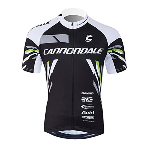 UONO Mens Short Sleeves Team Cycling Jersey Jacket Bicycle Bike ()