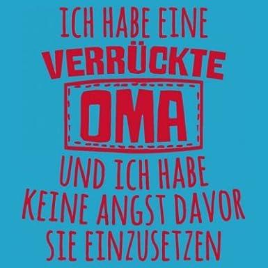Shirtcity Ich Habe Eine verr/ückte Oma Baby Strampler by