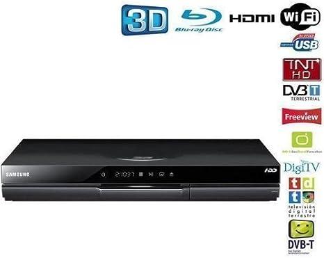 Samsung BD-D8900 Reproductor de BLU-Ray 3D Negro - DVD/BLU-Ray Players (7.1 Canales, AVCHD,MKV,WMV, AAC,MP3,WMA, GIF,JPG,PNG, 33 W, 1 W): Amazon.es: Electrónica