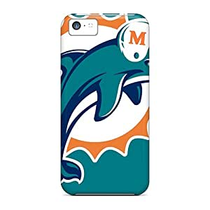 Miami Dolphins Protector mobile phone carrying skins Back Covers Snap On Cases For phone Strong Protect Iphone5c iphone 5c