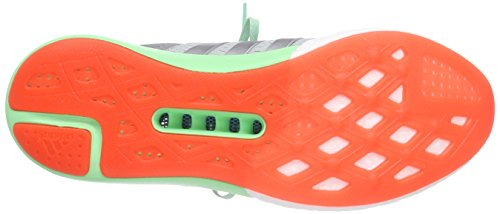 adidas Climachill Gazelle Boost - Zapatillas Hombre Plateado (ftwr white/silver met./solar red)