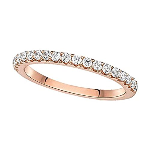 NANA Wedding Diamond Band 1/4ctw G/SI -14k Yellow Gold-Size 9