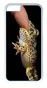 ACESR Frog Bite iPhone 6 Hard Shell Case Polycarbonate Plastics Lightweight Case for Apple iPhone 6(4.7 inch) White by lolosakes