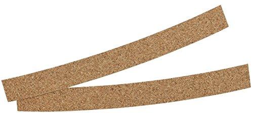 Korkstreifen zur Passoptimierung (2 Stück), Hutbänder aus 100% Kork für die Hut Innenseite, Korkeinlage in Einheitsgröße (Länge: ca. 200mm)