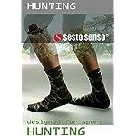 Sesto Senso Chaussette Hommes Camouflage Coton 1 ou 2 paires Camo Militaire Randonnée Plein Air Sports HUNTING 7