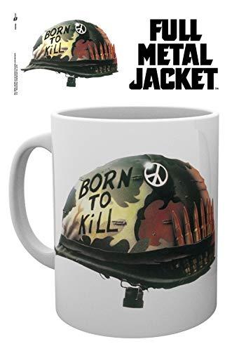 1art1® La Chaqueta Metálica - Helmet Born To Kill Taza Foto ...