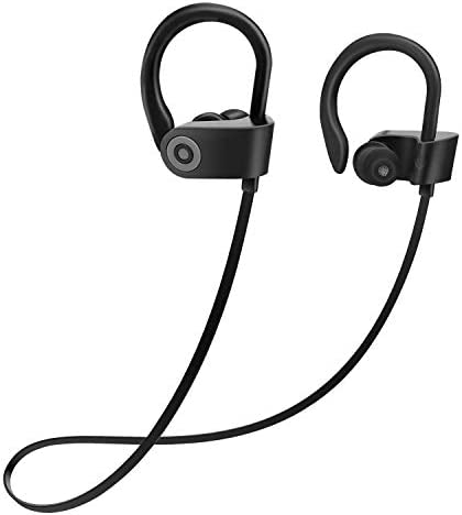 Bluetooth Headphones, Wireless Earbuds Sport, Richer HiFi Stereo in-Ear Earphones, 4-6 Hrs Playback Noise Cancelling Headsets Comfy Fast Pairing