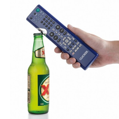 Clicker 2-in-1 TV Remote and Bottle Opener