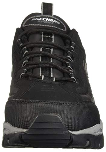Sport Leather Lace Abtrieb Skechers Turnschuh Energie up Black 1d01qw