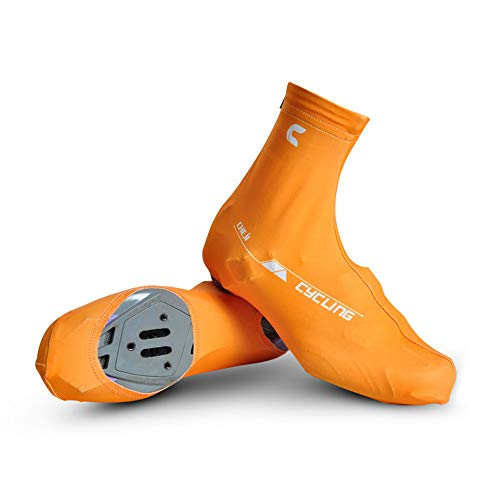 Cycling Shoes Covers Weatherproof Bike Shoes Cover, Waterproof Reflective Cycling Shoe Covers, Windproof Bicycle Lock…