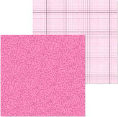 Doodlebug 6085 PP Paper 12x12 F/G - Gum Bubble Doodlebug