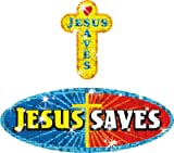 Dallas Pen Company Sticker Sprkl Jesus Saves Sticker Sprkl Jesus Saves