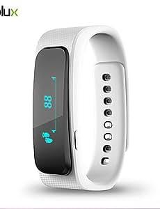 pulsera de movimiento inteligente relojes bluetooth salud teléfono auricular manzana impermeable inalámbrica android 4.0 ios gm , blue