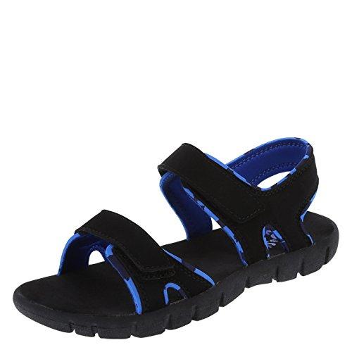 Zoe And Zac Boys' Black Boys' Parker Sport Sandal 2 Regular