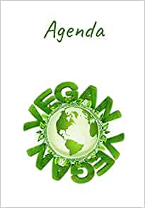 Agenda: Agenda 2019/2020 per vegani in italiano. (Italian ...