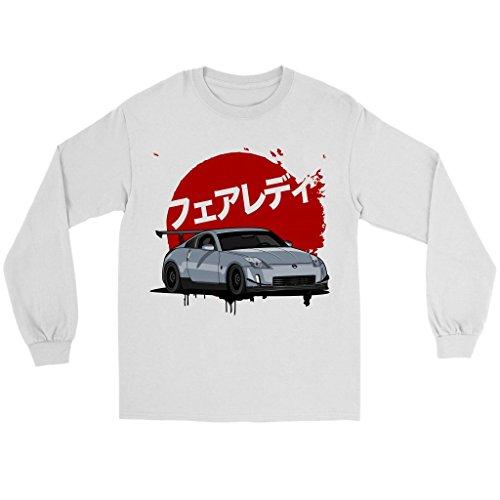 Nissan 350Z Fairlady JDM Long Sleeve Shirt White