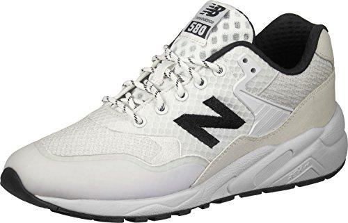 Mens MRT580 Low Sneaker Weiss New Schwarz schwarz weiß Balance vqxwAw57