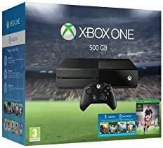 Xbox One - Pack de consola 500 GB + FIFA 16: Amazon.es: Videojuegos