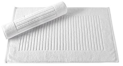 Luxury Bath Towel Collection Set - Combed Cotton Hotel and Spa Quality Bath Towels - Made with 100% Turkish Cotton, Jacquard Rib Style - Made in Turkey