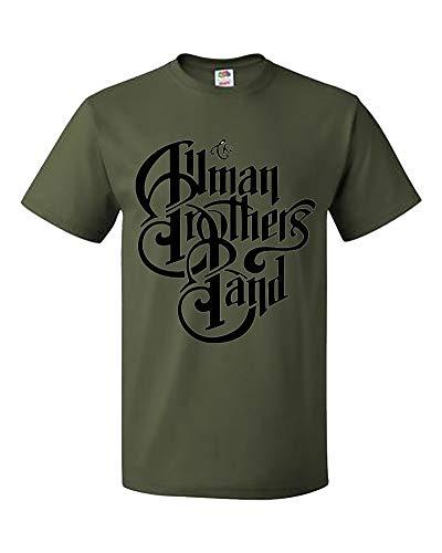 Xxl Band Shirts (Palalula Men's Gregg Allman The Allman Brothers Band T-Shirt M380 Tribute T-Shirt XXL Green)