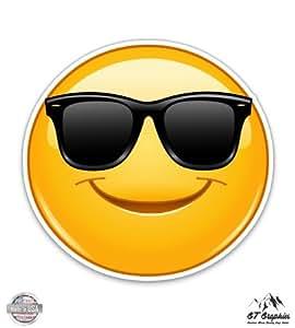 Amazon.com : GT Graphics Smiley Cool Dude Emoji - Large
