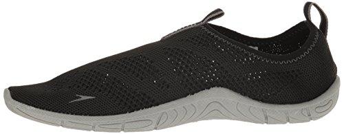 Speedo Women's Surf Knit Athletic Water Shoe, Black/Neutral Grey, 7 C/D US by Speedo (Image #5)