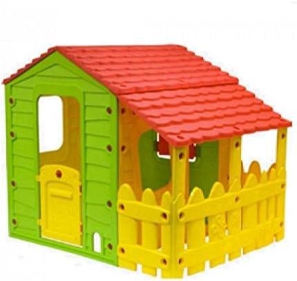 Casette In Resina Per Bambini.Papillon Casetta Da Giardino Per Bambini Con Portico In Resina 118 X 146 X 127 Cm Amazon It Giardino E Giardinaggio