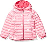Amazon Essentials Girls' Hooded Puffer Ja
