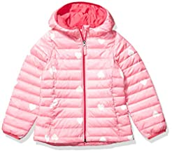 Amazon Essentials Girls' Lightweight Wat...