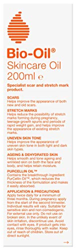 Bio-Oil Skincare Oil – Improve the Appearance of Scars, Stretch Marks and Uneven Skin Tone – 1 x 200 ml