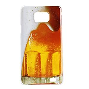 ZCL Beer Pattern Hard Case for Samsung Galaxy S2 I9100