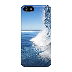 Iphone 5/5s Case, Premium Protective Case With Awesome Look - Female Surfer