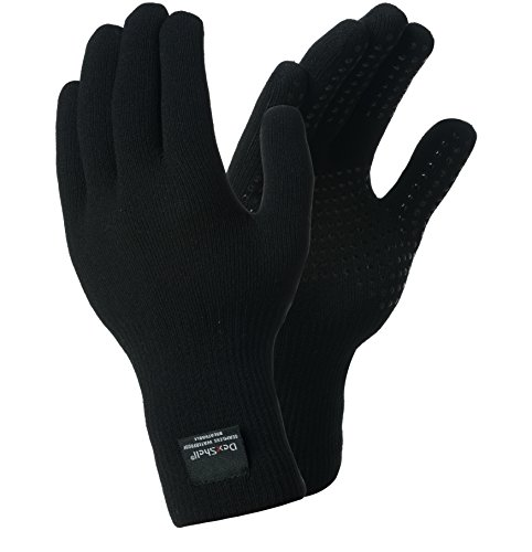 Dexshell Waterproof Gloves Thermal Protection With Merino Wool Inner (M)