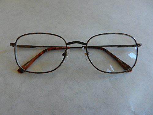 own Tortoise Wire Frame Reading Glasses with Spring Hinges-(330) + FREE Cleaning Cloth ()