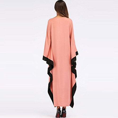 Middle Gown Party Loose Dresses Casual Cocktail East Fit Women's Dress Skirt Evening Zhuhaitf Abaya Holiday a6wSxnn