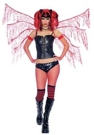 Morris Dark Nymph Wings Red - Dark Wings Nymph