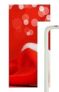 Samsung Galaxy S5 Santa Claus Hat PC Custom Samsung Galaxy S5 Case Cover White