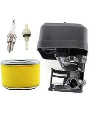 HURI Behuizingsdeel luchtfilterbehuizing met luchtfilter bougie scharnierfilter voor Loncin G160F, G160 F/D, G200 F/D V-Nr. 180020760-0001