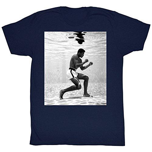 Muhammad Ali Training Underwater Hitter Adult T-Shirt Tee