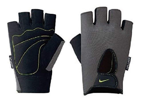 Nike Men's Fundamental Training Gloves, Anthracite/Black/Volt (Medium)