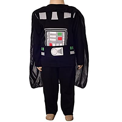 Dressy Daisy Boys' Star Wars Darth Vader Costume Halloween Outfit Fancy Party Dress
