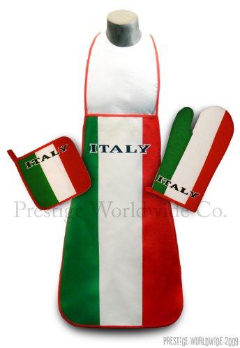 Kitchen Oven mitt Pot holder Italian Italia