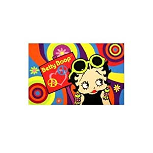 Amazon Com Fun Rugs Psychedelic Betty Boop Area Rug 39