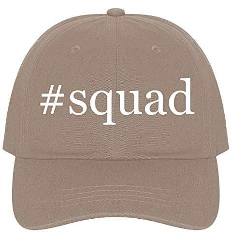 (The Town Butler #Squad - A Nice Comfortable Adjustable Hashtag Dad Hat Cap, Khaki )