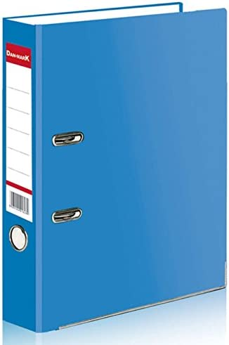 Red A4 Matt Large 75mm Lever Arch Files Folders Stationery Metal Document Storage