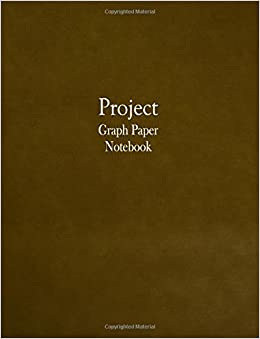 project graph paper notebook 1 4 inch cross section graph ruled