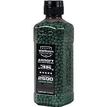 Valken V-Tac BBs Tactical 0.36g Bottle, 2500 Count, Aqua